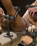 Bondage Two Sluts Suffer in Grueling Bondage with Squirting Orgasms